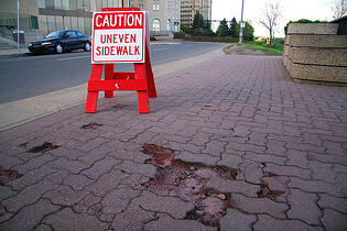 poorly installed walkways can hinder pedestrian safety on your site
