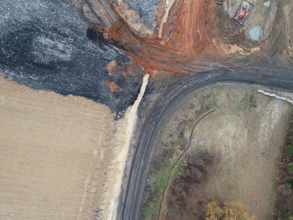 T lake drone construction 3