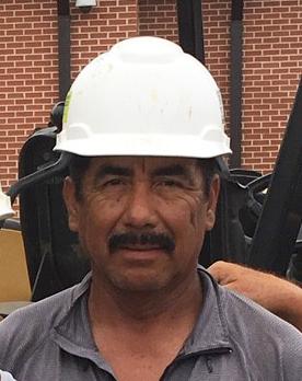 Francisco Ortiz, T. Lake landscape crew member